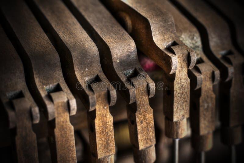 Pianovreugde stock foto