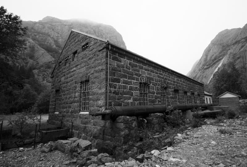 Pianta di energia idroelettrica fotografia stock