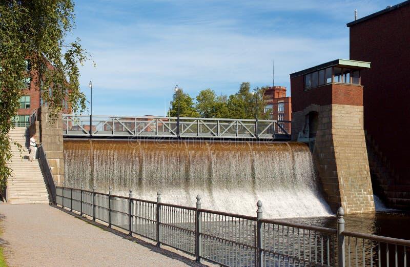Pianta di energia idroelettrica fotografia stock libera da diritti