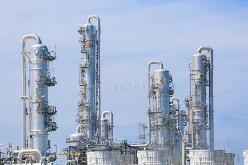 Pianta industriale chimica fotografia stock libera da diritti