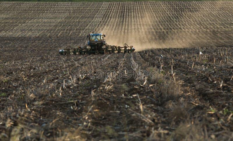 piantatura del cereale 2 fotografia stock