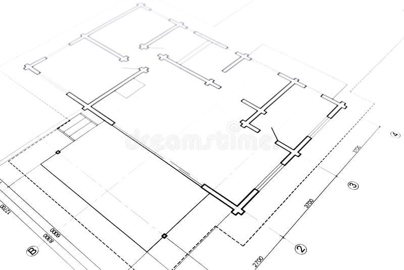 Download Piante architettoniche illustrazione di stock. Illustrazione di dimensioni - 55365449