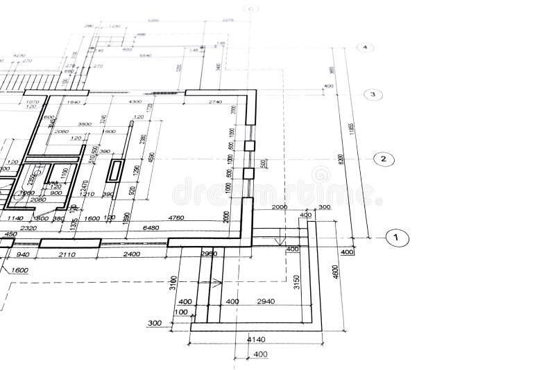 Download Piante architettoniche illustrazione di stock. Illustrazione di progettazione - 55365537