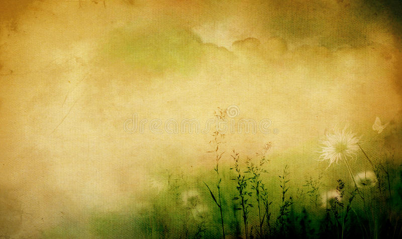 Piante e fiori illustrazione vettoriale