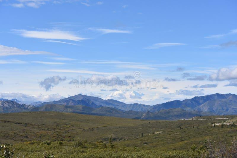 Pianure d'Alasca fotografie stock