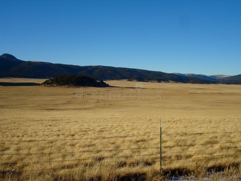 Pianure del New Mexico immagini stock