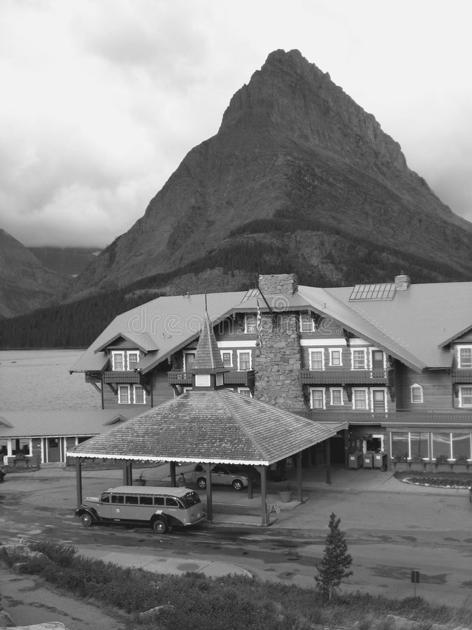 Pianure nordiche Montana Glacie immagini stock libere da diritti