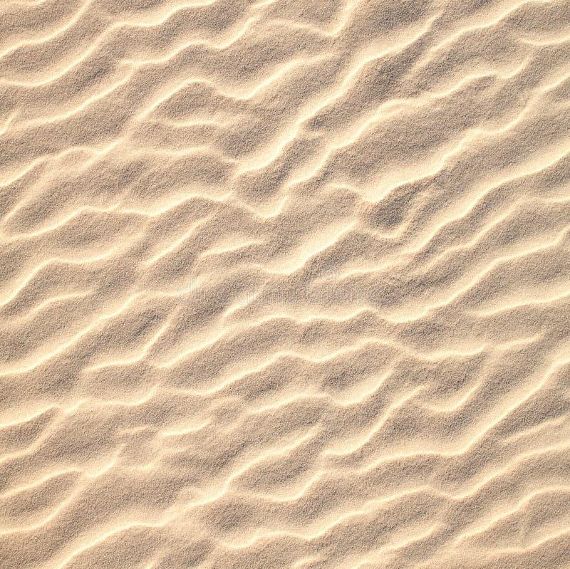 Piasek deseniowa tekstura zdjęcie stock