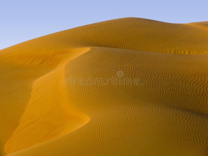 Piasek diuna - Środkowy Wschód zdjęcia royalty free