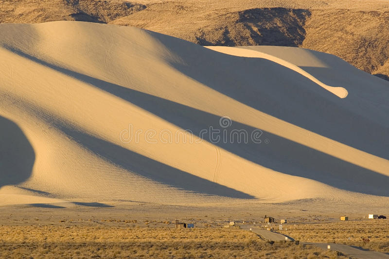 Piasek góra Nevada zdjęcie royalty free