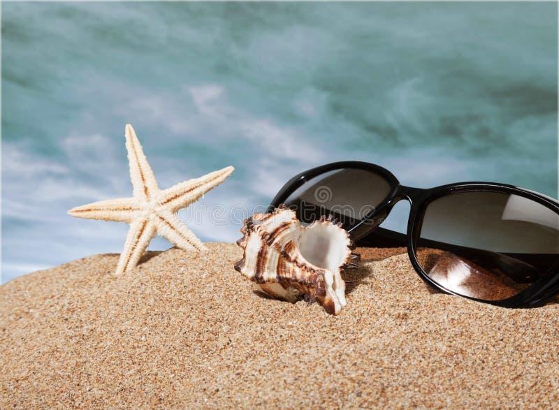 Piasek plaże obrazy royalty free