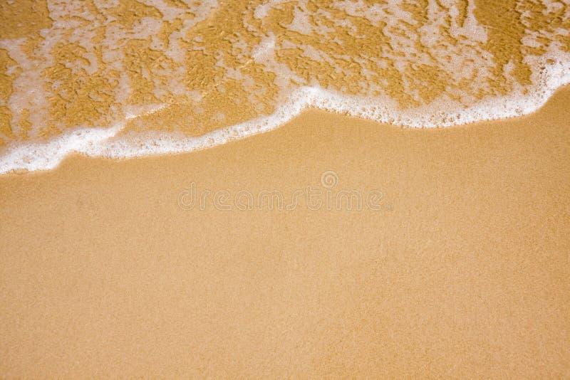 piasek plażowa jasna fala obrazy royalty free