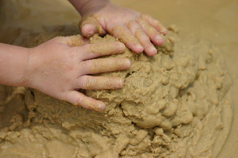 piasek plażowy sztuki. zdjęcia royalty free