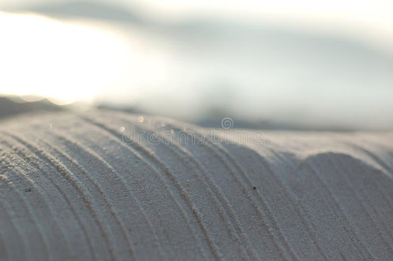Piasek tekstury zdjęcia stock