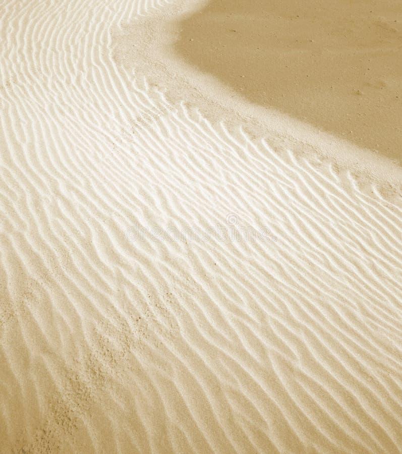 Piasek w pustyni zdjęcie stock