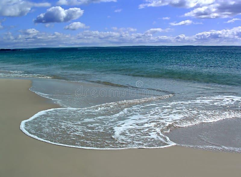 piasek wody obrazy stock