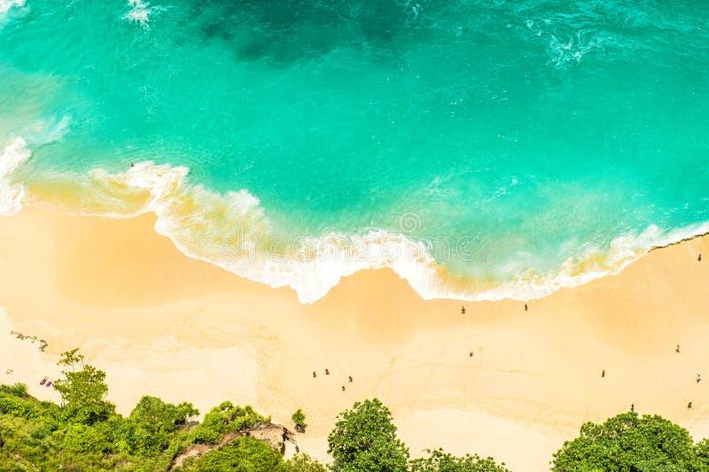 Piasek wody morskiej wakacji letnich podróży plażowy tło obrazy royalty free