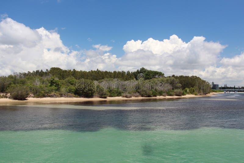 Piasek wyspa Forster, NSW Australia obrazy stock