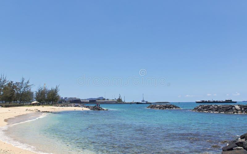 Piasek wyspy stanu rekreacyjny park obrazy stock
