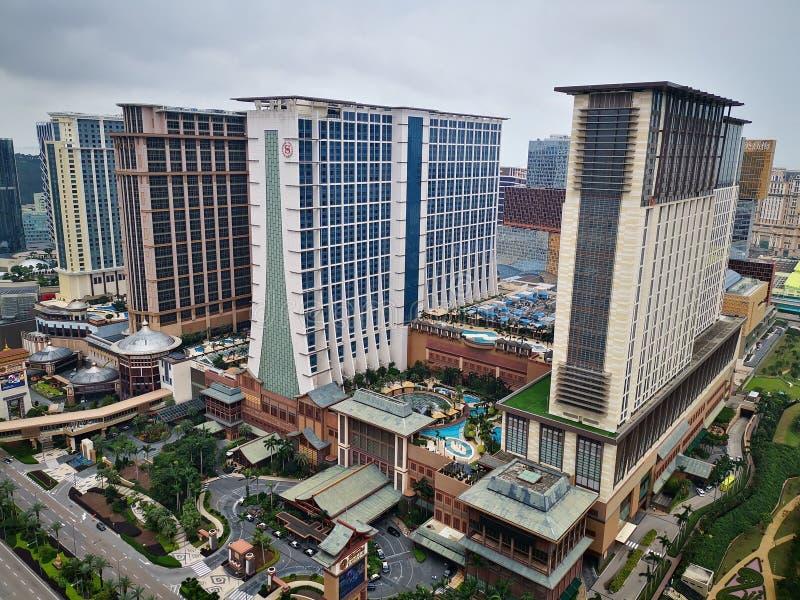 Piaska Cotai centrala przy Macau Chiny obrazy stock