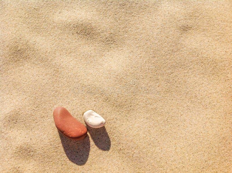 Piaska i kamieni tekstury tło zdjęcie stock