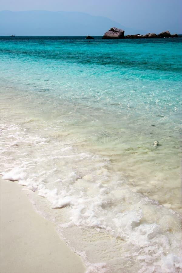 piaska morze fotografia stock