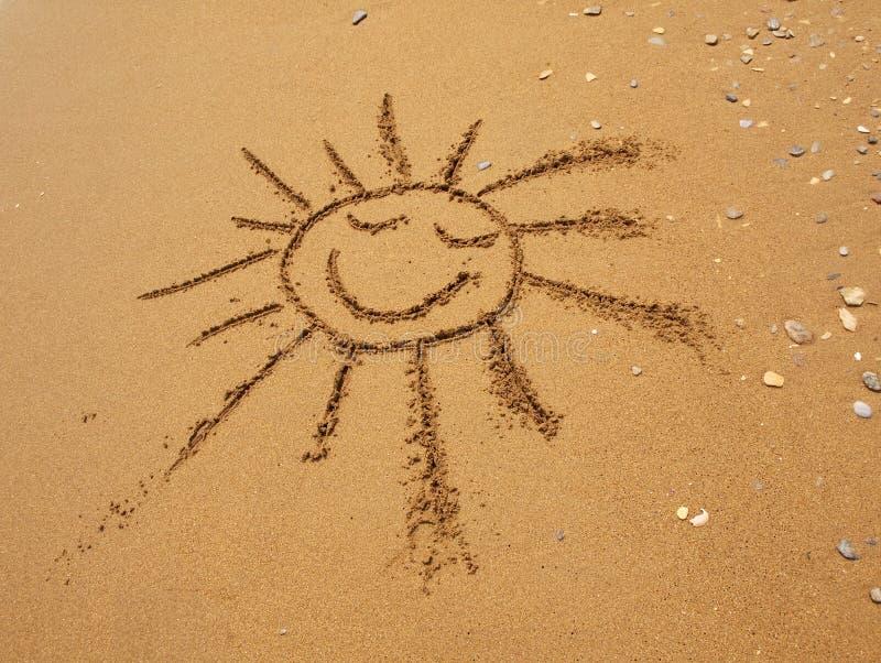 piaska patroszony słońce zdjęcia royalty free