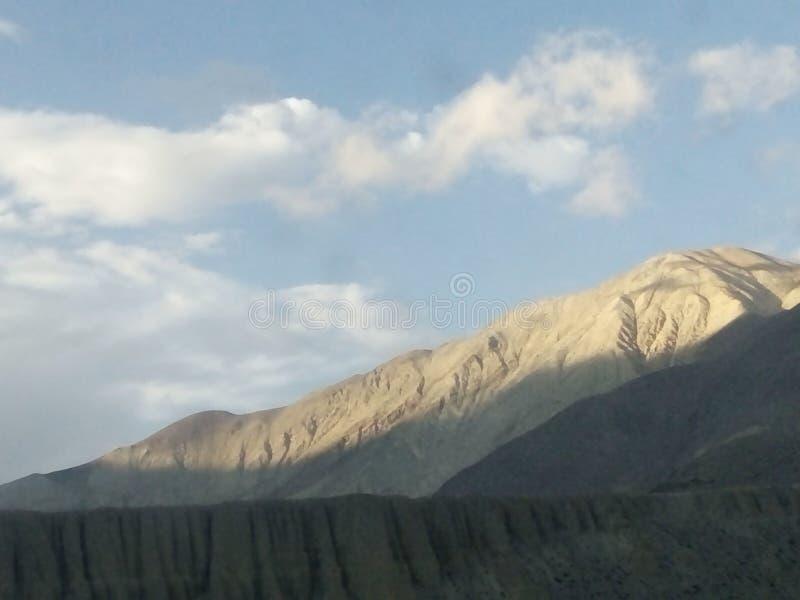 Piaska wzgórze obraz stock
