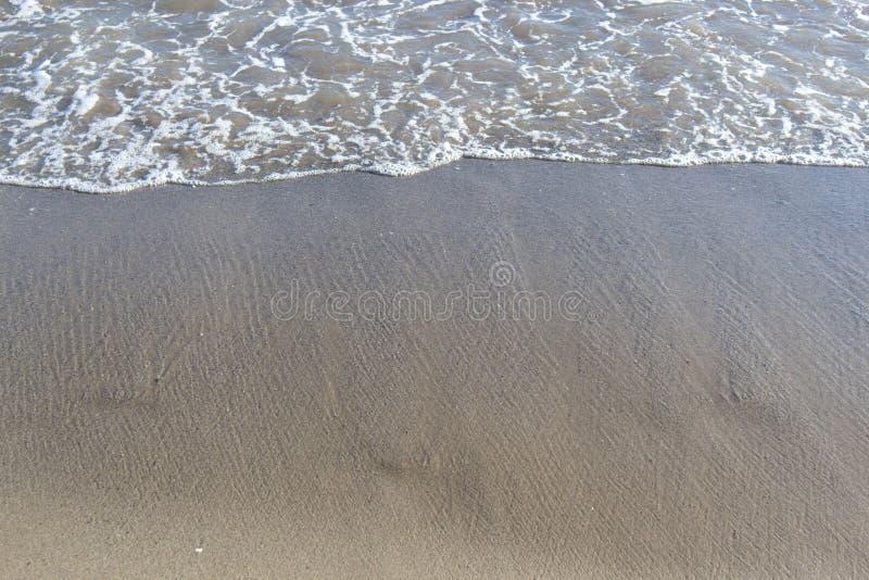 Piaskowata plaża fotografia royalty free
