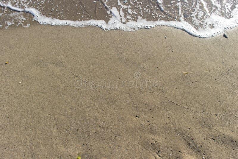Piaskowata plaża zdjęcie stock