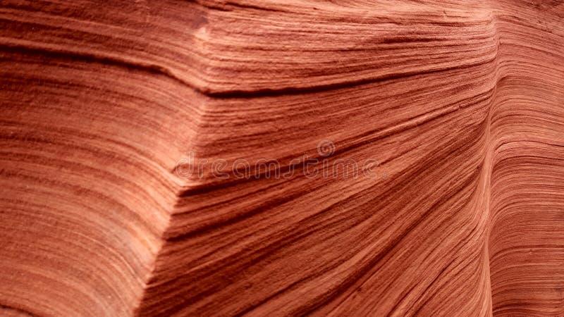 Piaskowcowa tekstura, Górny antylopa jar, Arizona zdjęcia stock