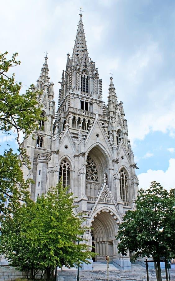 Piaskowcowy kościół obrazy stock
