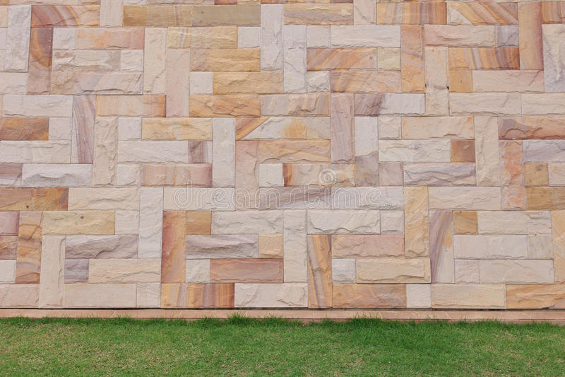 Piaskowiec ściana zdjęcie stock