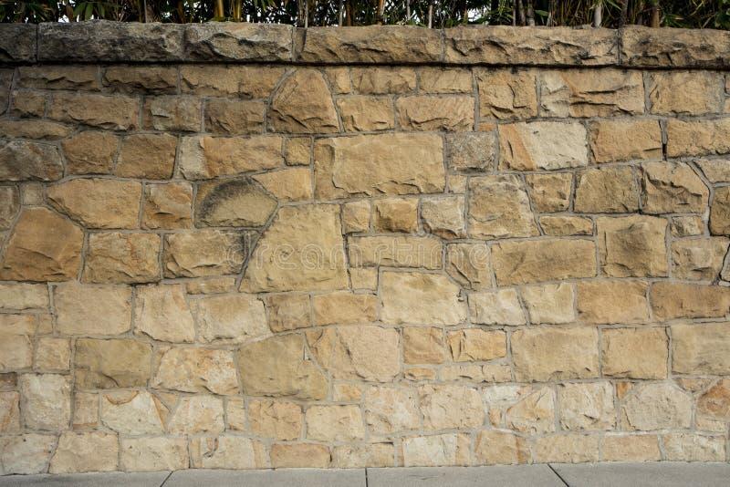 Piaskowiec ściany szczegół obrazy royalty free