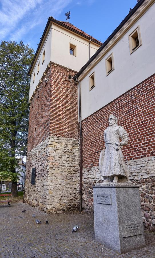 Piast Castle in Gliwice Poland.. The castle from the mid 14th century located in the center of Gliwice stock images