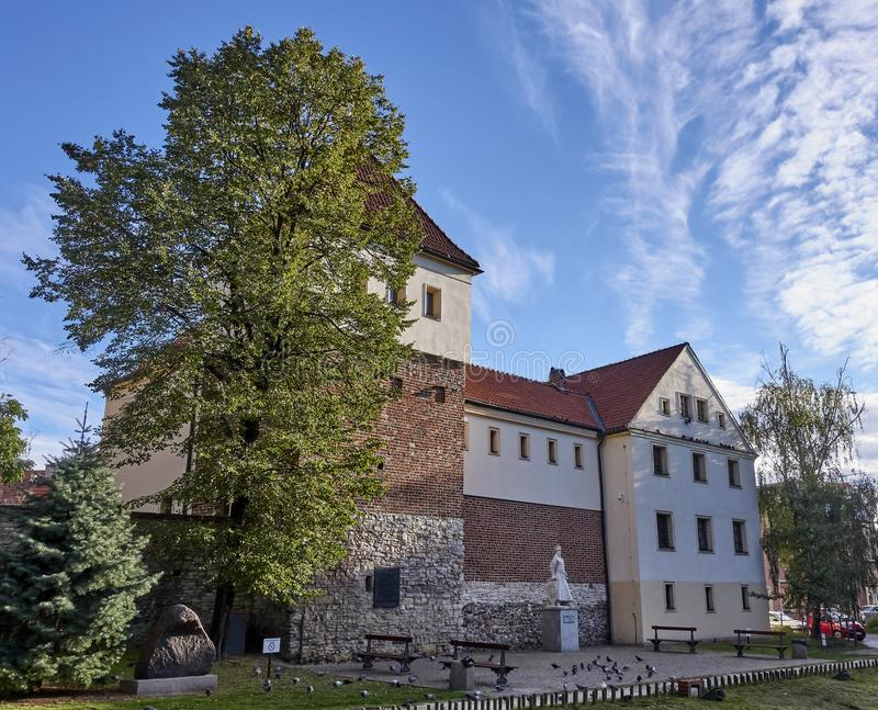 Piast Castle in Gliwice Poland.. The castle from the mid 14th century located in the center of Gliwice royalty free stock photos