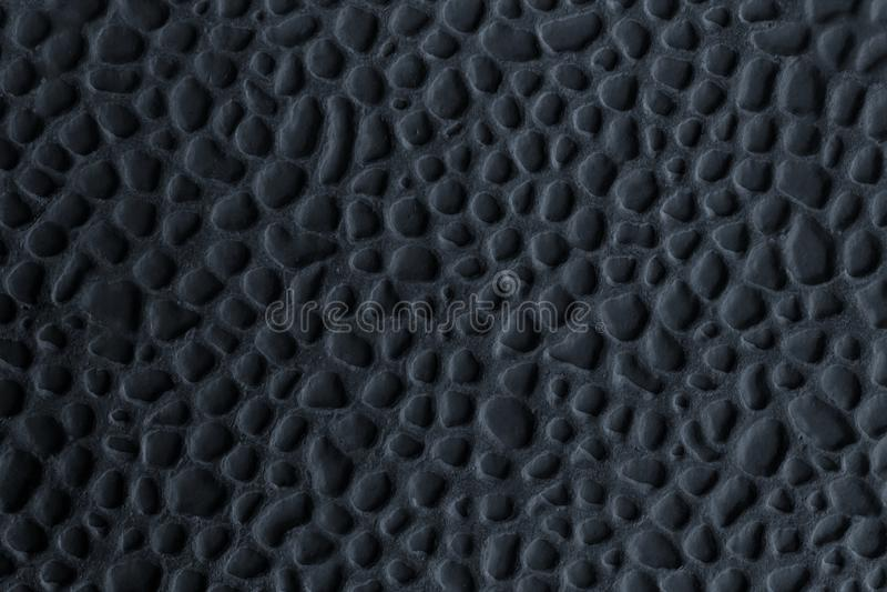 Piastrella di ceramica con impresso nel nero Priorit? bassa originale astratta fotografia stock libera da diritti