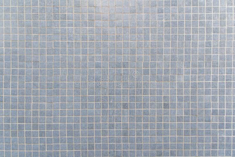 Piastrella per pavimento del mosaico di gray blu per il fondo di struttura illustrazione vettoriale