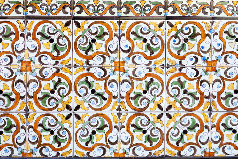 Piastrelle di ceramica portoghesi tradizionali fotografie stock libere da diritti