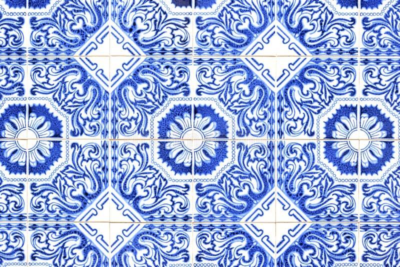 Piastrelle di ceramica portoghesi tradizionali immagine stock libera da diritti