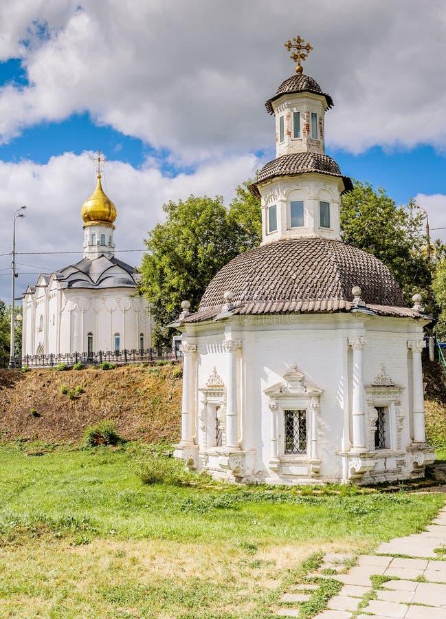 Piatnitski lub Sergievskiy well zdjęcia stock