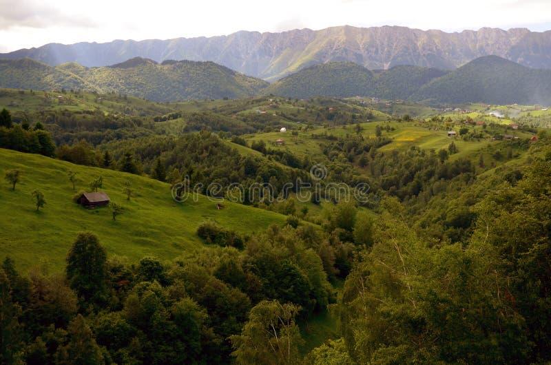 Travel to Romania: Piatra Craiului Mountain royalty free stock image