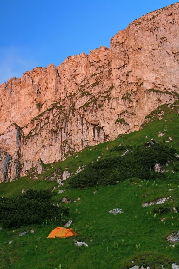 Piatra Craiului Klippen - Rumänien lizenzfreie stockfotos