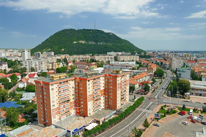 Piatra Neamt city, Romania royalty free stock photo