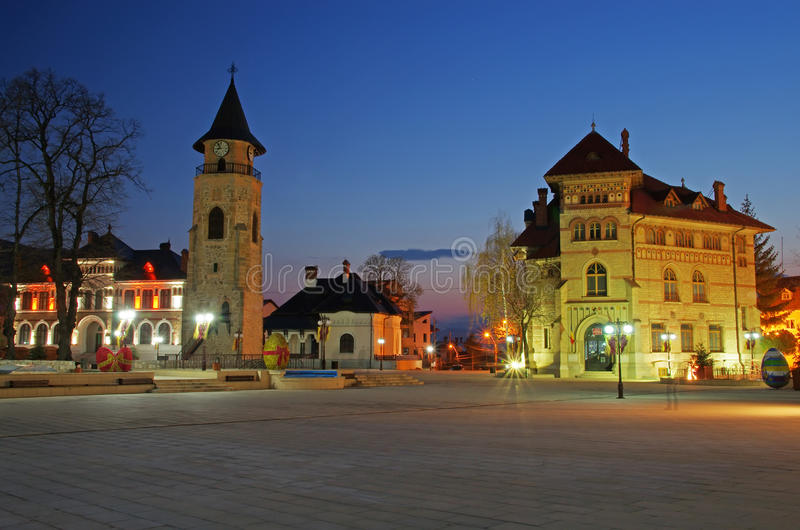 Piatra Neamt stock image