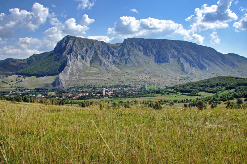 Download Piatra Secuiului, Szekelyko Mountain. Rimetea, Transylvania, Romania Stock Image - Image of massif, relief: 35297907