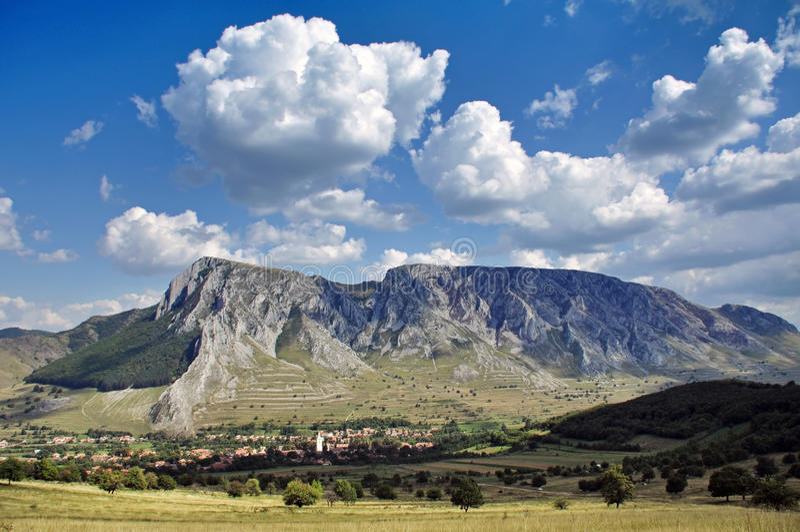 Download Piatra Secuiului, Szekelyko Mountain. Rimetea, Transylvania, Romania Stock Image - Image of adventure, cloudy: 35298077