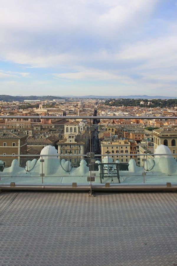 Piattaforma d'esame Roma fotografie stock