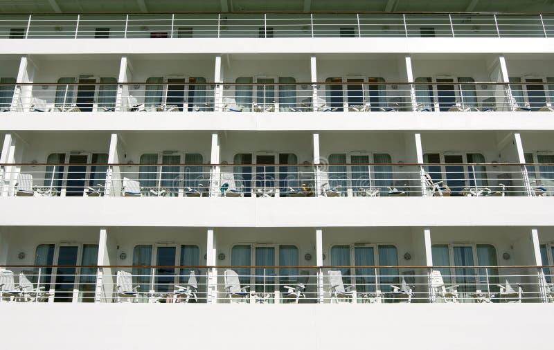 Piattaforma del passeggero della nave da crociera fotografia stock libera da diritti