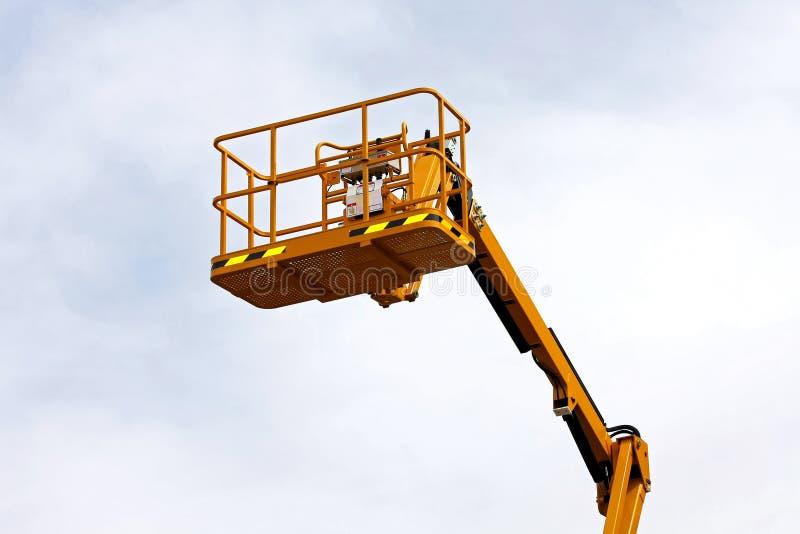 Piattaforma della costruzione fotografie stock